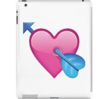 Arrow through heart iPad Case/Skin