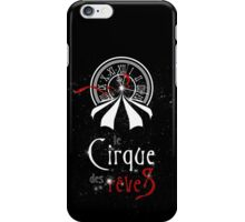 Le Cirque Des Reves (Red Version) iPhone Case/Skin