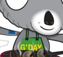 aussie koala Sticker
