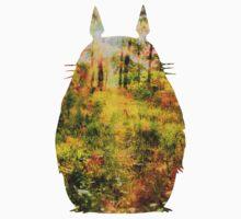 Totoro Minimalist Poster T-Shirt