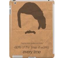Brian Fantana minimalist poster iPad Case/Skin