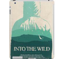 Into the Wild minimalist movie poster iPad Case/Skin