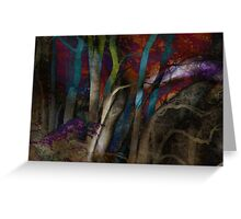 Funky Woods - JUSTART © Greeting Card