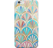 Vintage Twenties Art Deco Pastel Pattern iPhone Case/Skin