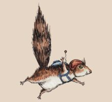Skydiver Squirrel by joykolitsky