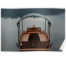 Lake Bled Boat Poster