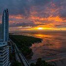 Dawn Divides the Horizon by Bernai Velarde
