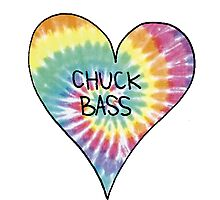 I Heart Chuck Bass - Gossip Girl Photographic Print