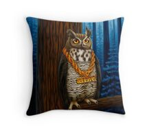Wize Throw Pillow