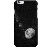 Space Moon Glow iPhone Case/Skin