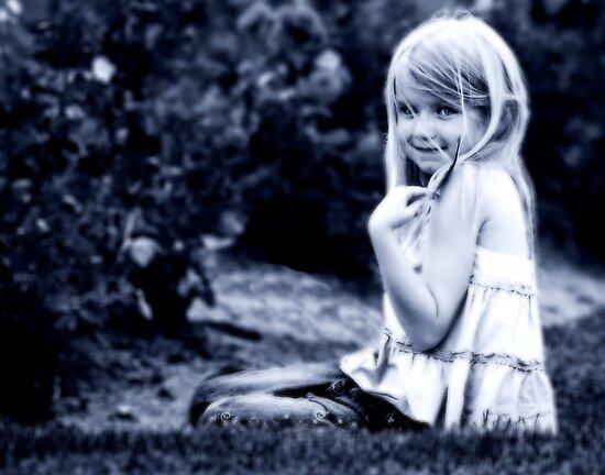 Nene in the Rose Garden by deahna