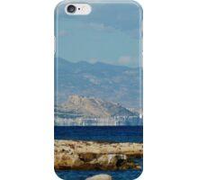 Shoreline of Alicante iPhone Case/Skin