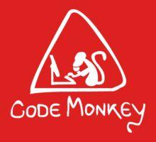 [W] Code Monkey Baby Tee