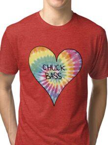 I Heart Chuck Bass - Gossip Girl Tri-blend T-Shirt