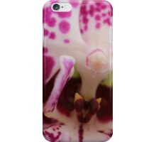 Pink Orchid close-up iPhone Case/Skin