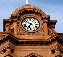 The Clock Tower by chriscroxall