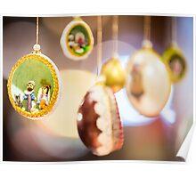 Christmas eggs Poster