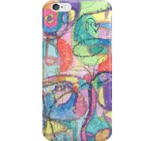 Im A New Creation Abstract Watercolor Painting iPhone Case/Skin