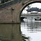 View from the Canal, Zhouzhuang, China by Daniel Rodgers