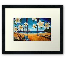 Sailing Noosa Style Framed Print