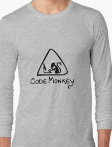 [B] Code Monkey Long Sleeve T-Shirt