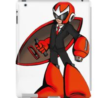 Protoman in a black tux  iPad Case/Skin