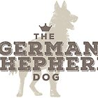 The German Shepherd by bluegirldesign