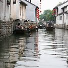 Under the Bridge, Zhouzhuang, China by Daniel Rodgers