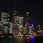 Brisbane by Night by minniemanx