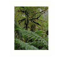 Creepy Forest. Art Print