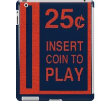 Coin-Op T-shirt iPad Case/Skin