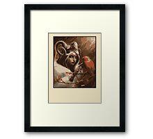 Wood Elf Framed Print