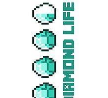 Minecraft Diamond Life by bnonymous