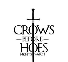 Crows before Hoes by bnonymous