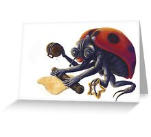 Ladybird Biscuits Greeting Card