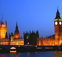 Houses of Parliament by frankmedrano