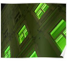 GREEN HOUSE WINDOWS  Poster