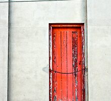 door and cables by Michael Douglass
