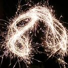 Sparklers of the night. by olwen Fisher