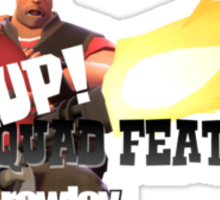 Nup! Squad Features 2 Sticker