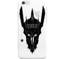 Shadow is coming iPhone Case/Skin