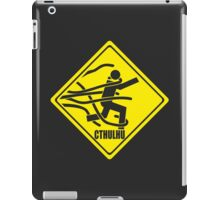 Warning: Cthulhu iPad Case/Skin