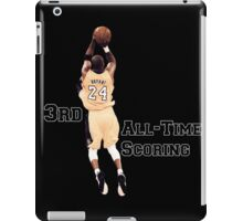 Kobe Bryant  3rd All Time Scoring NBA Lakers iPad Case/Skin