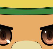 Moffle's head - Amagi Brilliant Park Sticker