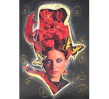 The red vixen Photographic Print