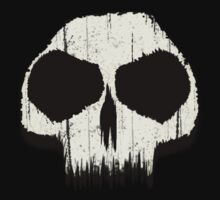 Grunge Skull Design 2 by BluAlien