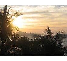 Acapulco Sunset 2 Photographic Print