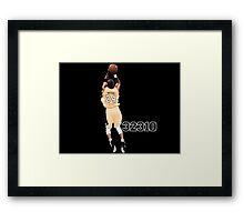 Kobe Bryant  All Time Scoring 32310  Framed Print