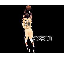 Kobe Bryant  All Time Scoring 32310  Photographic Print
