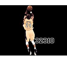 Kobe Bryant  All Time Scoring 32310  Photographic Print
